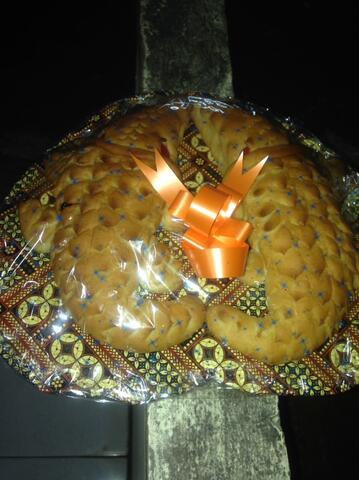 Roti Buaya Bentuk Love Ukuran Sedang Cuma Rp.75.000
