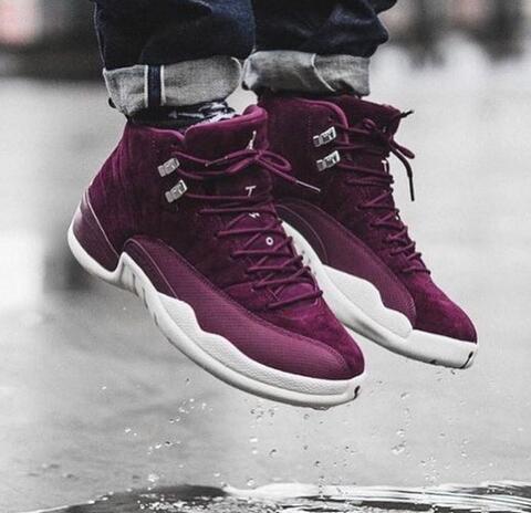 "Air Jordan Retro 12 ""Burgundy / Bordeaux"""