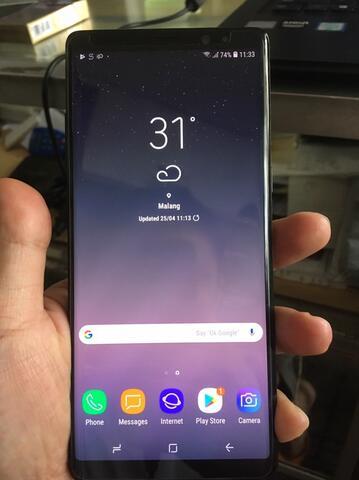 Samsung Note 8 64Gb Black SEIN Malang