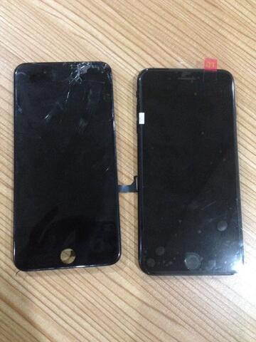 lcd iphone 7 dan 7plus original 100% redy stock service di tempat perbaikan di tempat