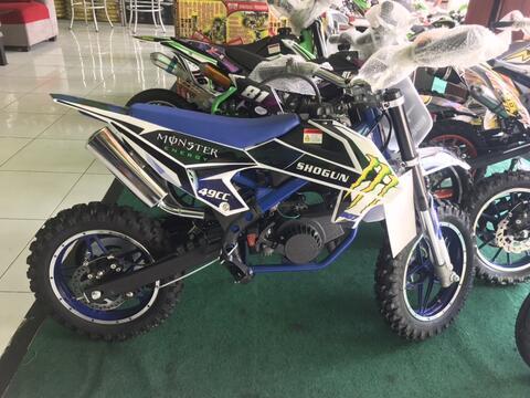 Jual Motor Mini Trail 50cc Matic Type Shogun Pas Untuk Anak