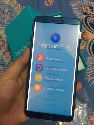 Huawei Honor 9 Lite RAM 3 GB ROM 32 GB Garansi Resmi 1 Tahun Sapphire Blue HP Android