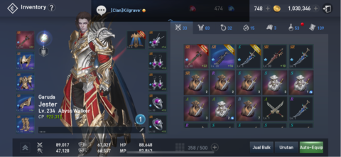 For Sale : LINEAGE 2 REVOLUTION, AbyssWalker, GARUDA.. check it out!!