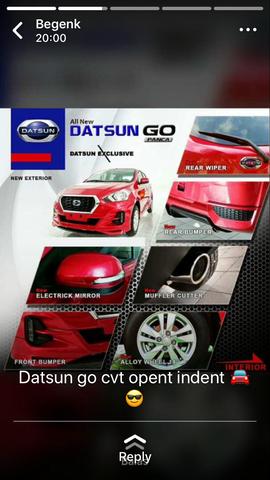 promo lebran Nissan Datsun Go matic manual cuma 15 JUTA