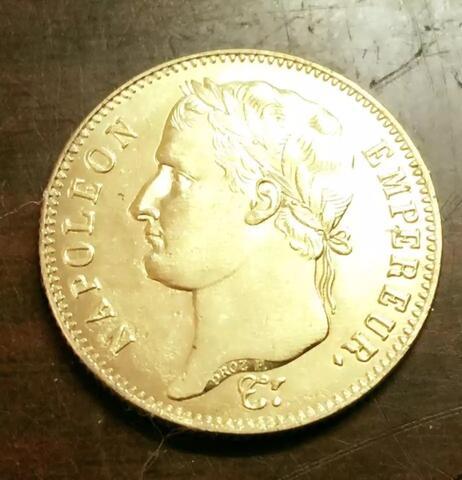 Coin NAPOLEON EMPEREUR Francois 1814