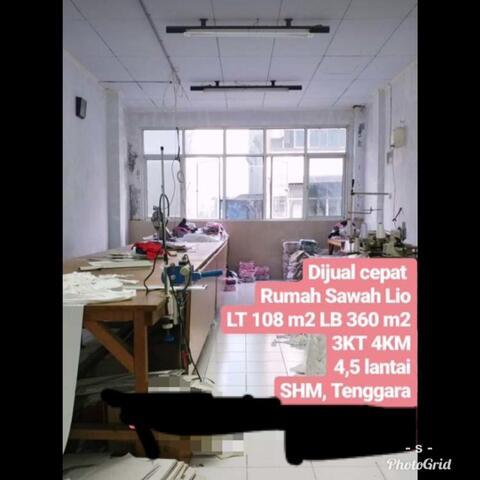 Dijual Cepat Murah Rumah Di Sawah Lio Tengah Kota