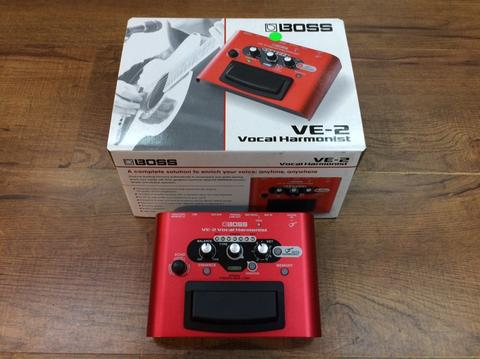 BRAND NEW: Boss VE-20 Vocal Harmonist (Vocal/Acoustic Guitar pedal)