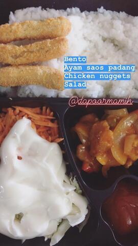 LunchBox - Bento - Nasi Liwet - Ayam Goreng - Catering Kantor Rumah Kost - Jakarta