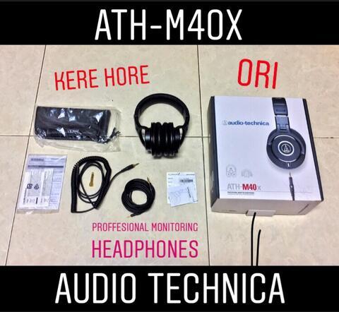 Headphone Audio Technica ATH-M40x KEREHORE
