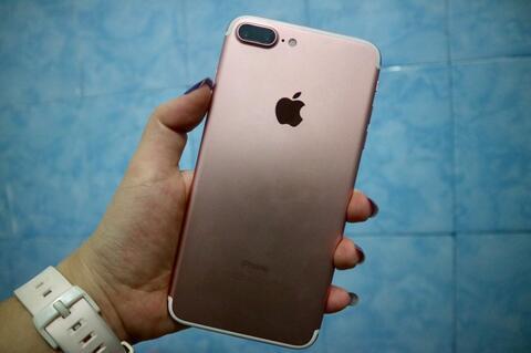 Jual Iphone 7 plus 128gb Mulus Lengkap