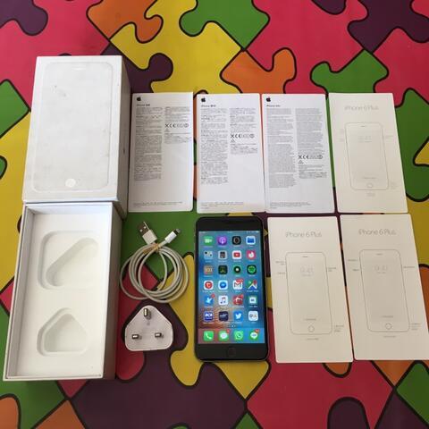 iPhone 6 Plus 16GB Grey Original Siap Pakai (Malang) (Surabaya)