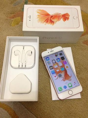iPhone 6s 16GB Rose Gold FU, Kondisi Istimewa, Siap Rekber & COD Bandung.