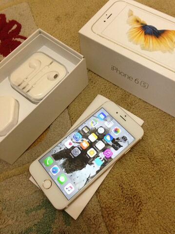 iPhone 6s 16GB Gold FU, Eks. Internasional, Siap Rekber & COD Bandung.