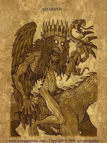 ASTAROTH Demon of Sulaiman