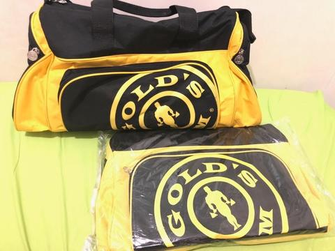 Tas Gym Fitness / Tas Golds Gym NEW ORI