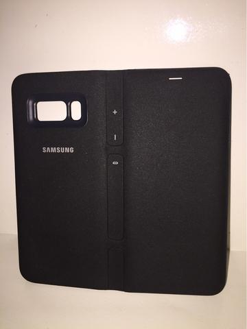 Casing Samsung Galaxy S8 ORI LED view