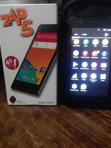 Smartphone Polytron Zap 5 second bonus EMY Charger