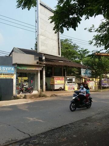Tanah pinggir jalan raya Cisauk BSD