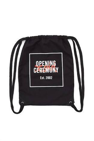 Opening Ceremony X-Girl Bag black brand new with tag Supreme Vans CDG Thrasher Asos