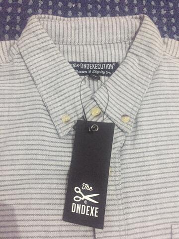Flannel Lengan Pendek size XL