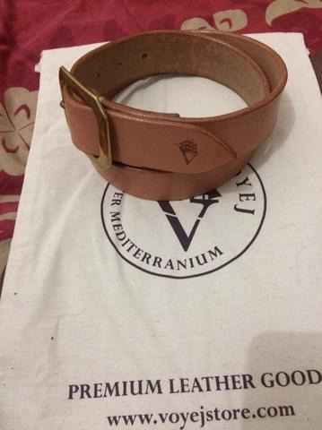 Voyej Chahin Belt II sz 32 Natural (not elhaus, sage, oldblue, ayedenim)