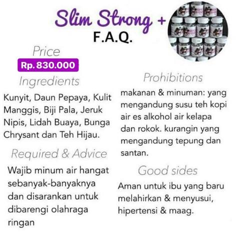 Slim Strong+ Beauty Product