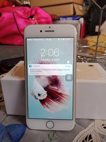 iPhone 7 128gb gold garansi panjang