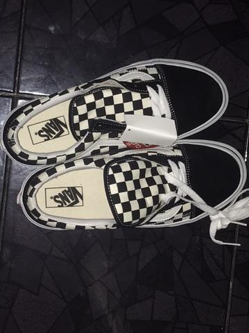 Vans oldskool checker japan