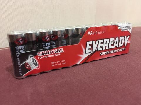 Baterai Eveready AA Isi 12pcs