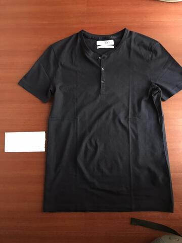 Sell tshirt Zara 2nd 100% Authentic Like New (kerah model baju koko)