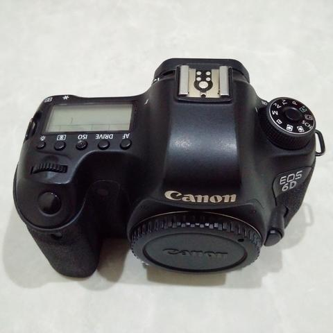 [CAKIM] WTS Canon EOS 6D WIFI GPS body only murah