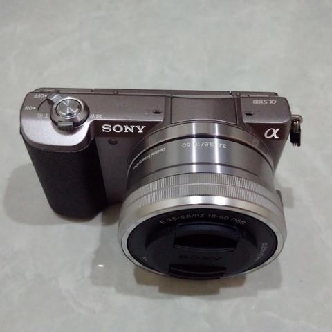 [CAKIM] WTS Sony A5100 kit 16-50mm OSS brown like new