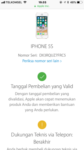 Dijual Cepat Iphone 5s Silver 16GB Lengkap LTE Ori FU