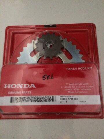 gear set untuk motor honda