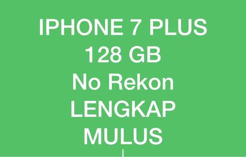iphone 7 plus 128gb hitam black matte no rekon. masuk dulu gan!