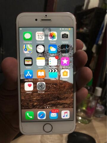 Iphone 6s rose gold 64GB ex inter bukan rekondisi jual murah