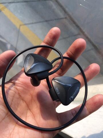 Nakamichi Bluetooth Headset Earphone Sport BT 03 Black