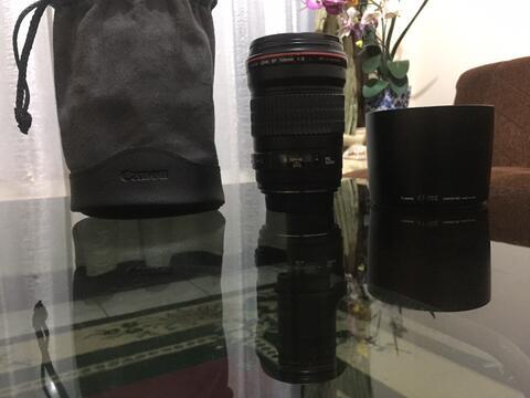 Lensa Canon 135mm f2 L Usm 5d 6d a7 a7r a7s lens Bokeh ada jamur