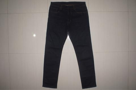 UNIQLO Blue Indigo Slim Fit Stretch Jeans