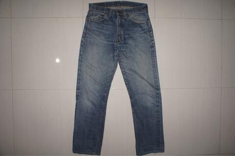 LEVIS LVC 551ZXX Blue Indigo Denim Selvedge Jeans
