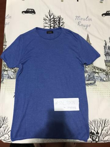 Tshirt Zara 2nd like new 100% Authentic ( Muscle Fit )