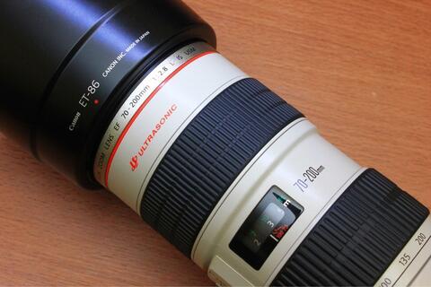 Canon EF 70-200 F2.8 L IS USM Like New Fullset Ex Ds