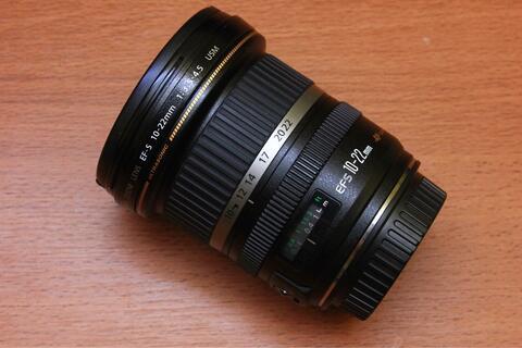 Ultrawide Canon 10-22 USM Mulus Sekali Fullset Ex Ds