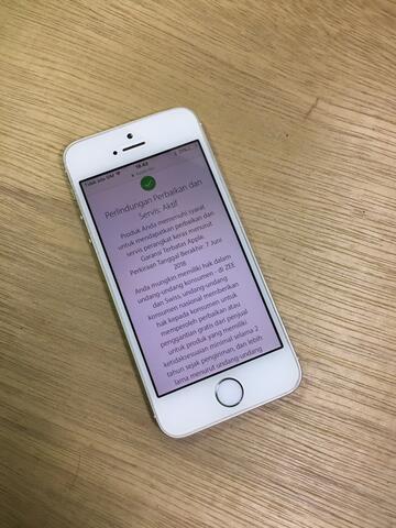 iphone 5s 16gb Fullset ori mulus garansi ibox aktif bisa COD