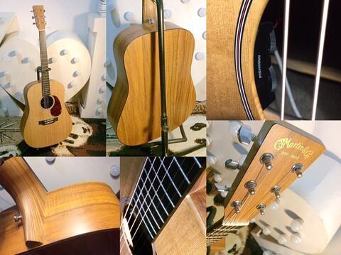 Martin DX1KAE . temennya Taylor Gibson Maton Fender Crafter Takamine