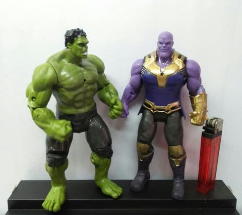 Action Figure Avengers Infinity War Thanos Dan Hulk