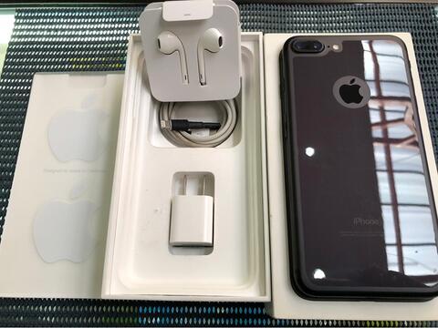 iPhone 7 PLUS 128gb Blackmatte Istimewa Like New Fullset Full Original Murah Malang