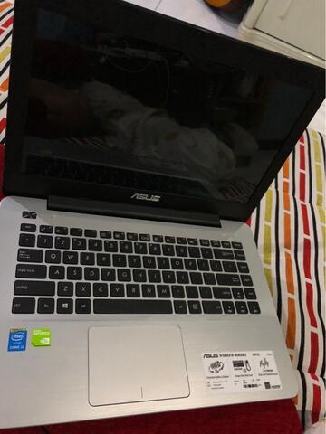 laptop asus x455L kondisi baik, sistem lancar