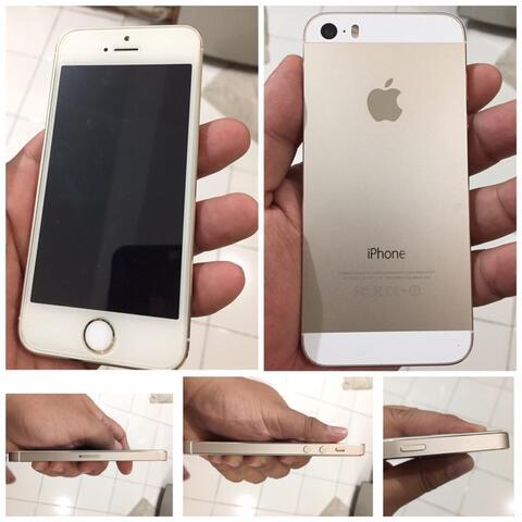 Iphone 5S 32 GB Gold Mulus