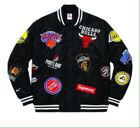 Supreme x NIKE NBA Bomber jacket (legit, original) not stussy, off white, bape